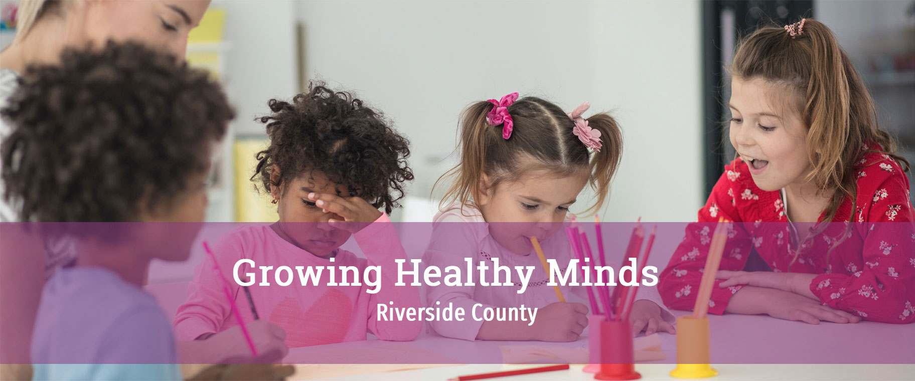 Growing Healthy Minds Banner